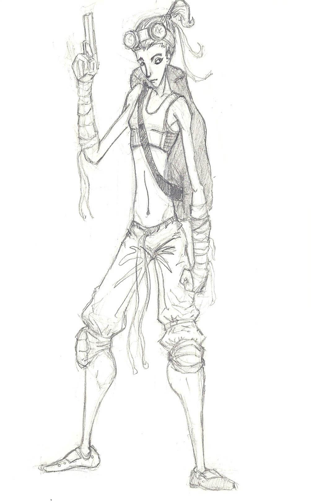 Character Design Page : Character design page victor fuste storyboarding